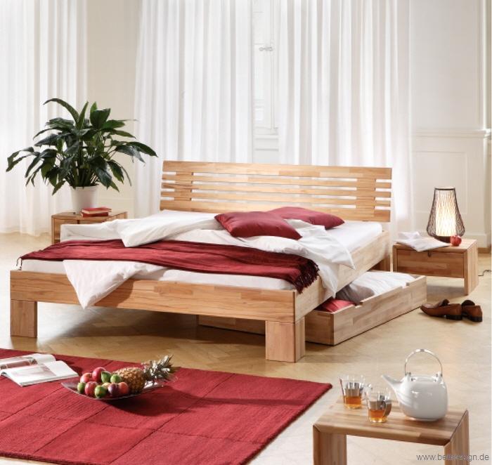 Massivholz Betten 140x200: Massivholzbetten