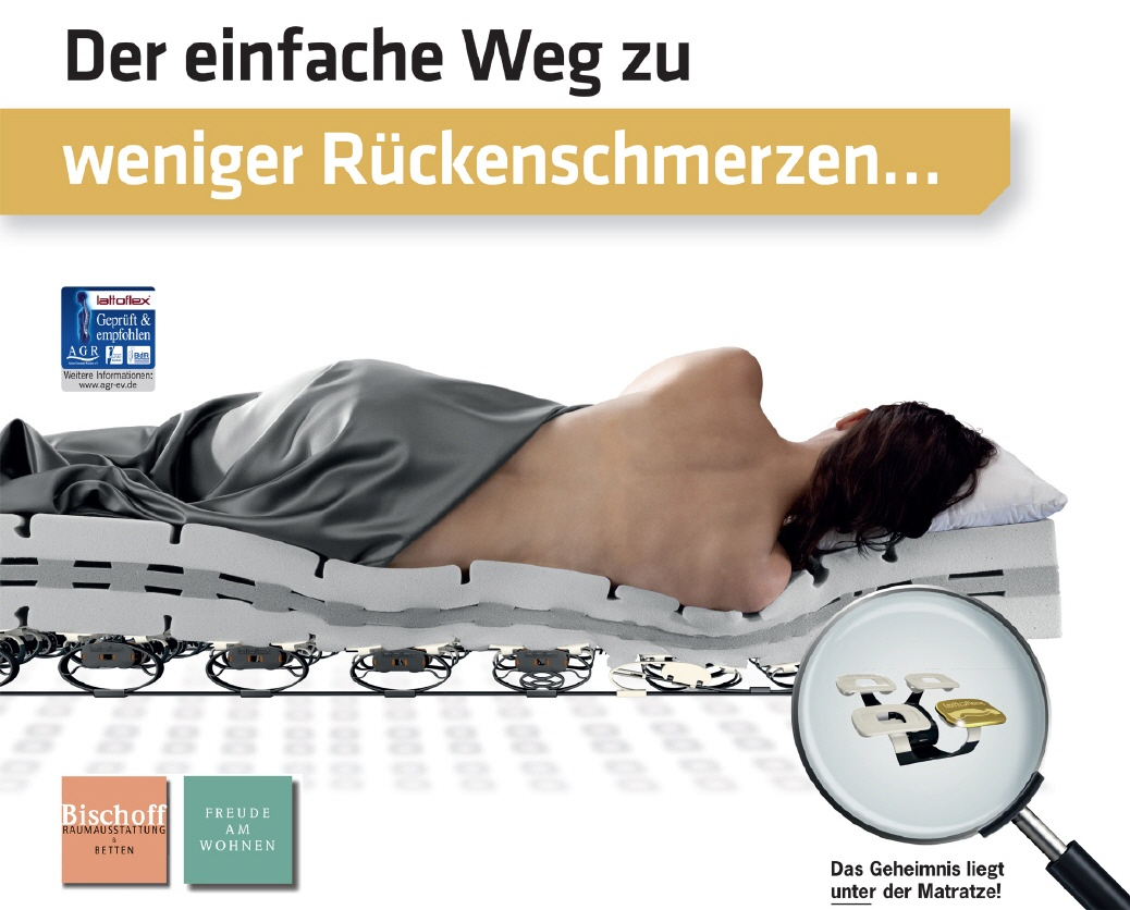 Bettsysteme und Matratzen von Werkmeister, Lattoflex, Röwa